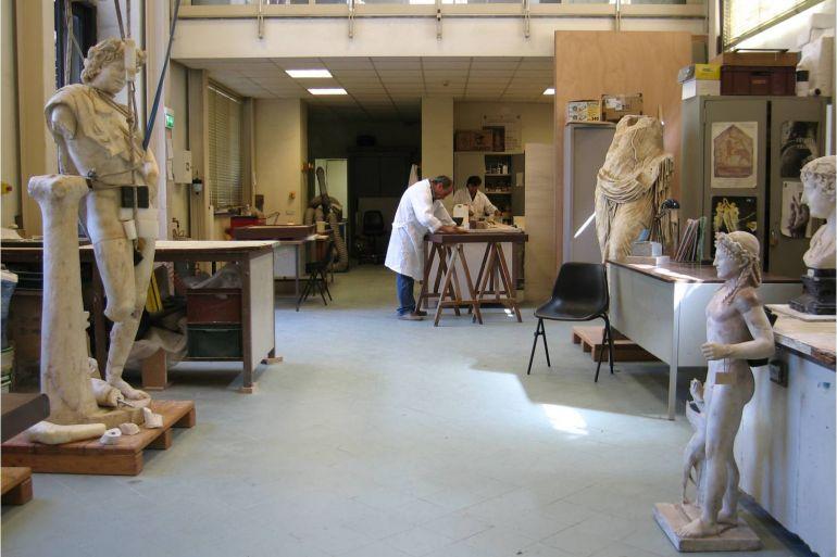 laboratorio restauro mann