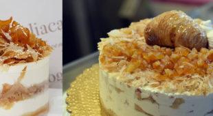 Espresso napoletano - La sfogliatella diventa una torta gelato