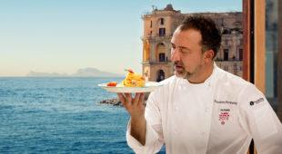 Espresso napoletano - Party a Palazzo Petrucci, tra champagne, alta cucina e performing art