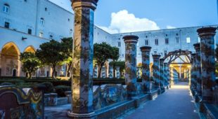 Espresso napoletano - Una notte al Chiostro di Santa Chiara