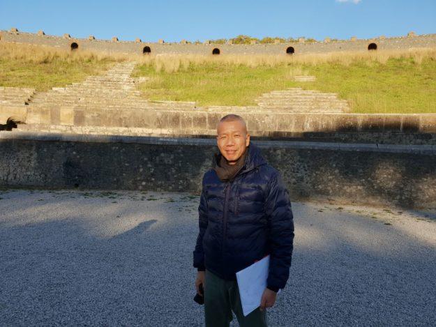 pompei   in the volcano