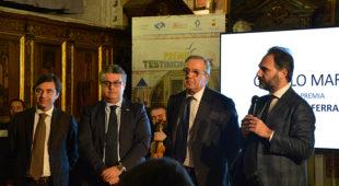 Premio Testimonianza a Rosario Bianco e Catello Maresca