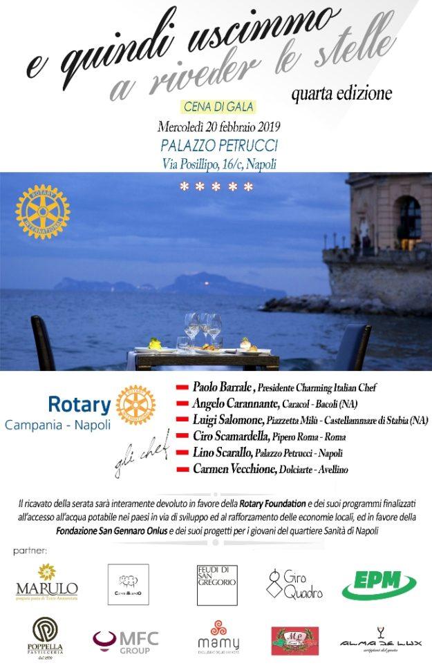 Cena Rotary - locandina