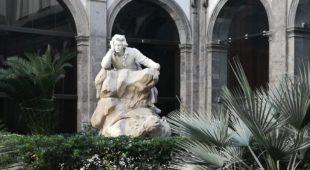 Espresso napoletano - San Pietro a Majella, restaurata la statua di Beethoven