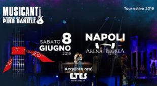 Espresso napoletano - Musicanti apre il suo tour estivo all'Arena Flegrea