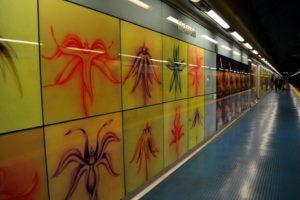 metropolitana di Napoli - materdei