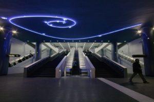 metropolitana di napoli - vanvitelli