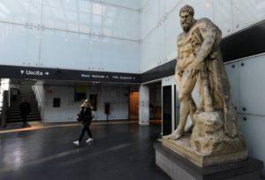 metropolitana di Napoli - stazione museo