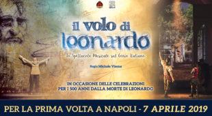 Espresso napoletano - A Napoli arriva per la prima volta Il volo di Leonardo