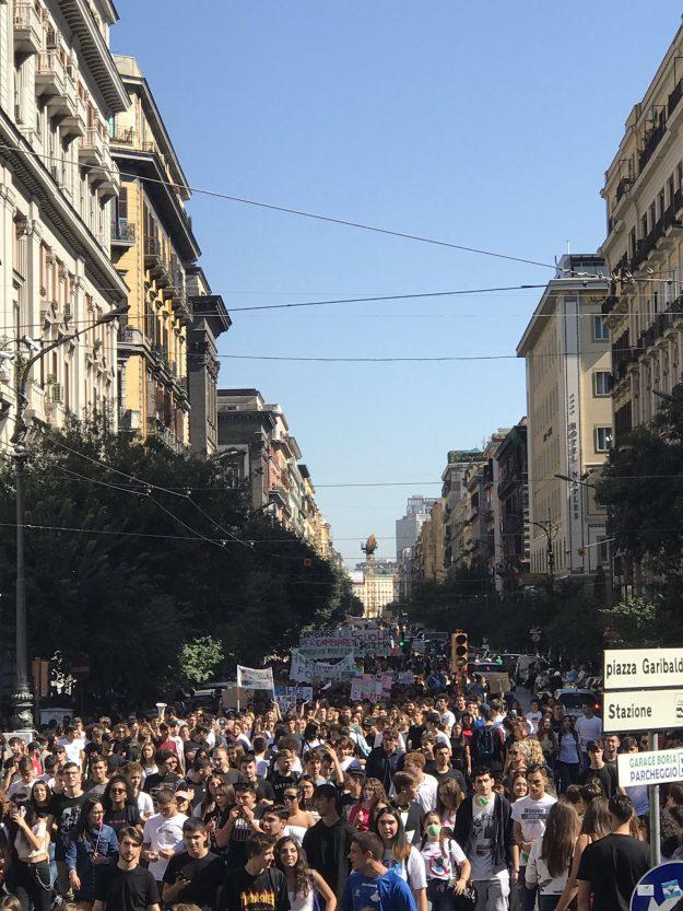 FridayForFuture a Napoli