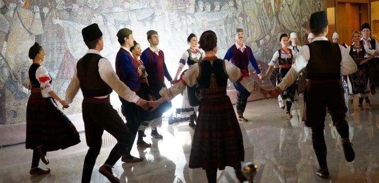 """Lo spettacolare evento del Calendario Di Meo 2020, """"Napoli Belgrado: il bianco e il nero"""""""